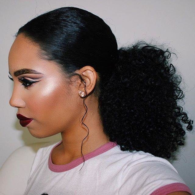 The Best Ponytail Hairstyles For Black Women Evesteps Pictures