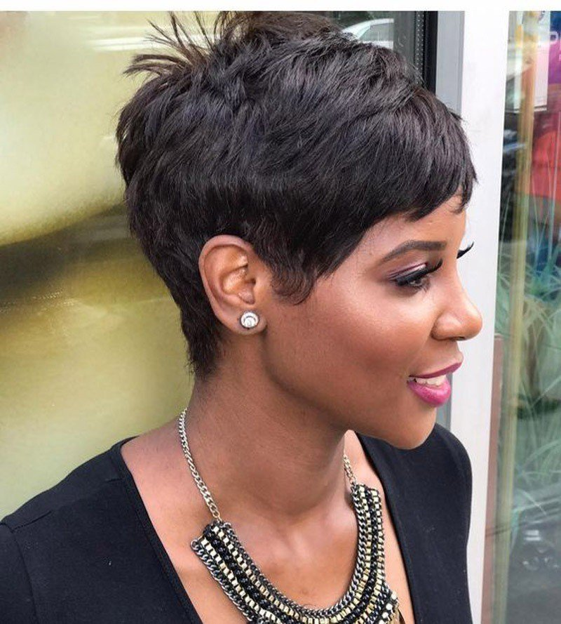 The Best Short Hairstyles For Black Women 2019 Evesteps Pictures