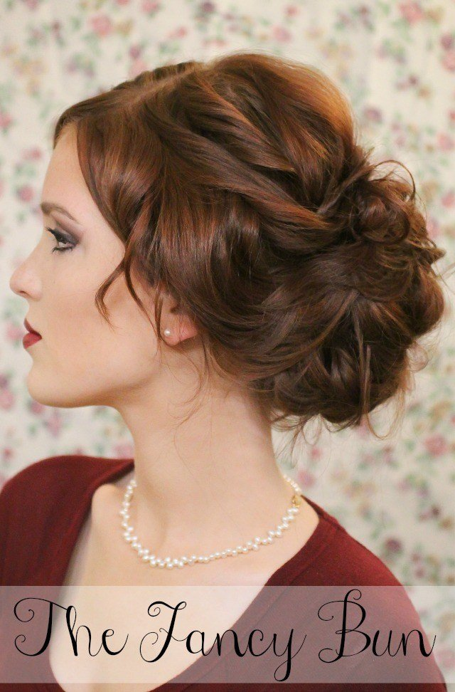 The Best Super Easy Knotted Bun Updo And Simple Bun Hairstyle Tutorials Pictures