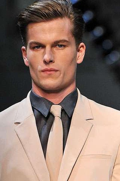 The Best Summer Hair Styles 2014 For Boys In Formal Look Pictures