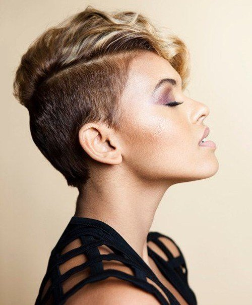 The Best Shaved Sides Pixie Haircuts For Women Full Dose Pictures