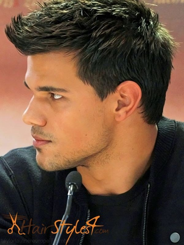 The Best Taylor Lautner Hairstyles Hairstyles4 Com Pictures