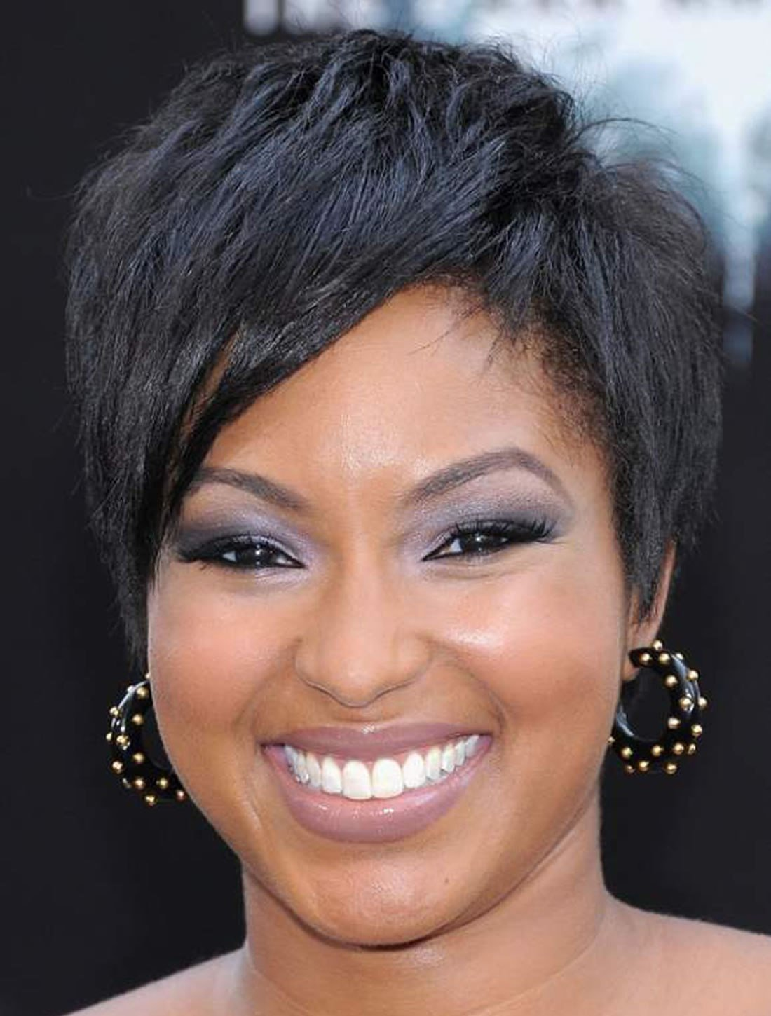 The Best Short African American Hairstyles For Round Faces 2018 Pictures