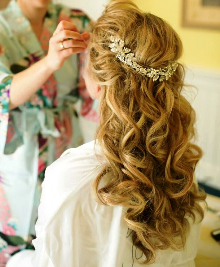 The Best 20 Elegant Half Up Half Down Curly Hairstyles Ideas Pictures