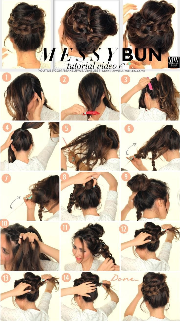 The Best Diy Messy Bun Pictures Photos And Images For Facebook Pictures