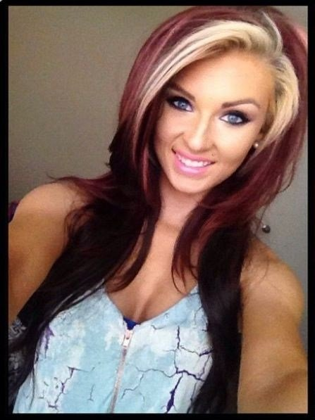 The Best Two Tone Hair Color Pictures Photos And Images For Facebook Tumblr Pinterest And Twitter Pictures