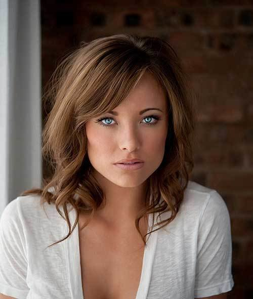 The Best 25 Hairstyles With Long Bangs Hairstyles Haircuts 2016 Pictures