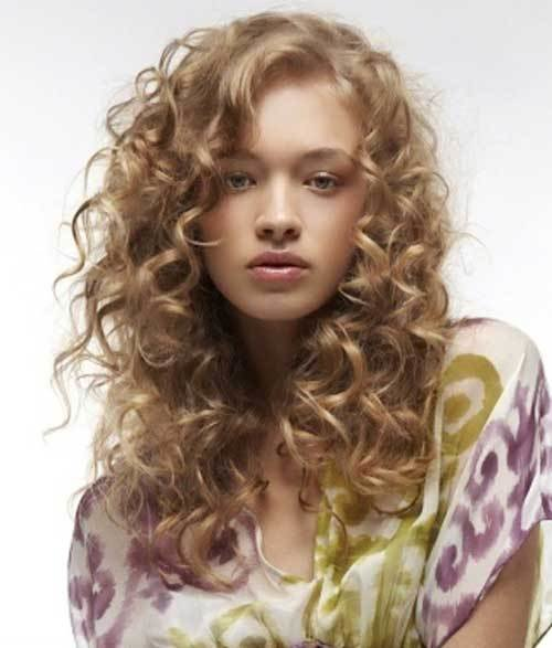 The Best 35 Long Layered Curly Hair Hairstyles Haircuts 2016 2017 Pictures