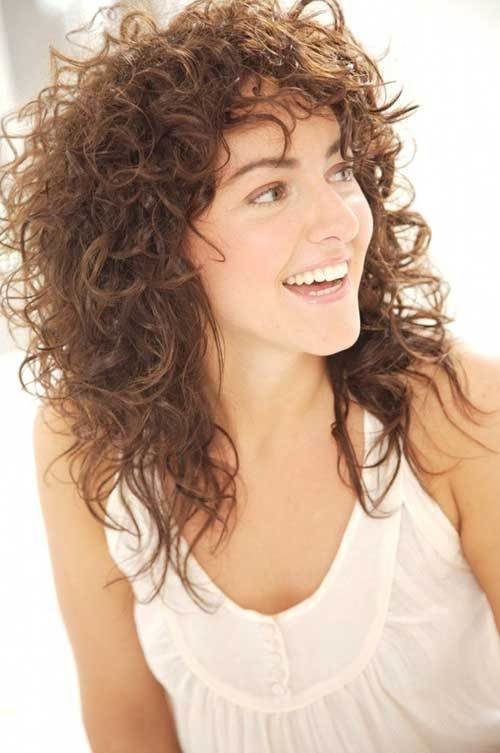 The Best 35 New Curly Layered Hairstyles Hairstyles Haircuts Pictures