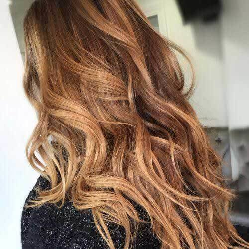 The Best Most Popular Hair Colors For Long Hair Hairstyles Pictures