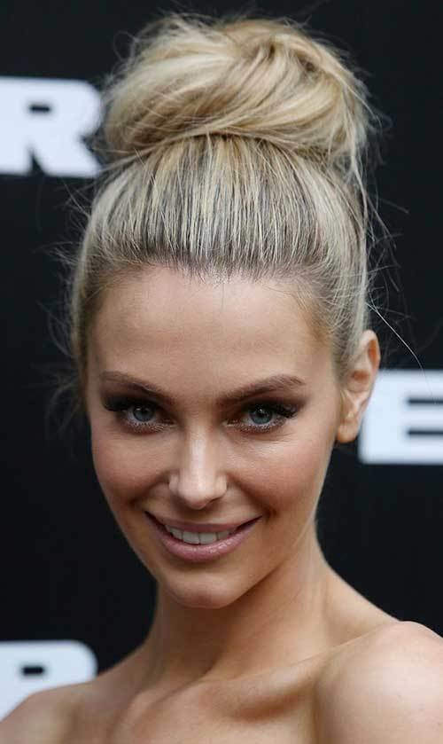 The Best Pretty Big Bun Hairstyles For Ladies Hairstyles Pictures