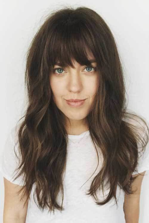 The Best Bangs With Long Hairdos You Should See Hairstyles Pictures