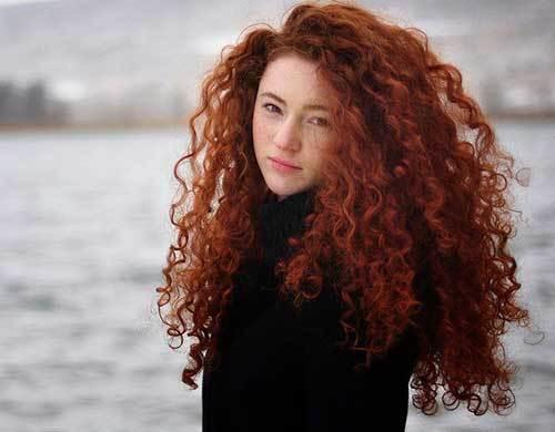 The Best 20 Long Red Curly Hair Hairstyles Haircuts 2016 2017 Pictures