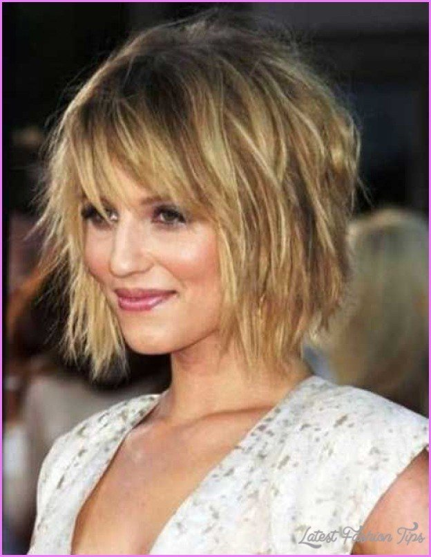 The Best Medium Messy Bob Hairstyles Latestfashiontips Com Pictures