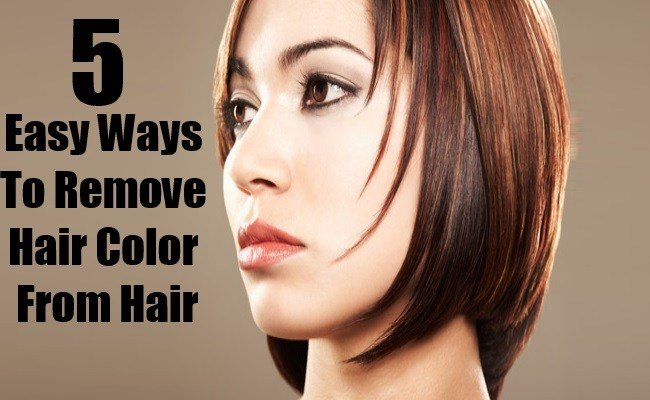 The Best 5 Easy Ways To Remove Hair Color From Hair Diy Life Martini Pictures