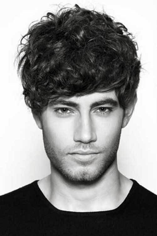 The Best 20 Short Curly Hairstyles For Men Mens Hairstyles 2018 Pictures