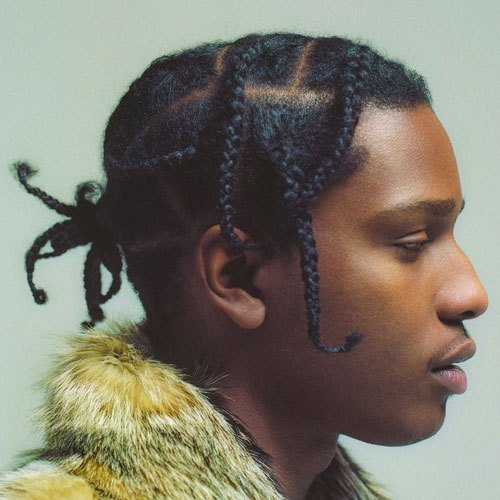 The Best Asap Rocky Braids Men S Haircuts Hairstyles 2017 Pictures