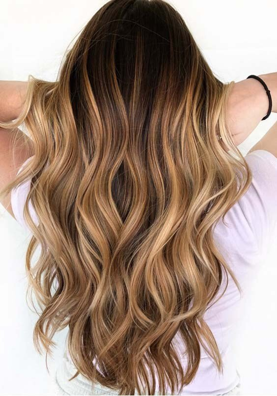The Best Caramel Balayage Omyoga Pictures