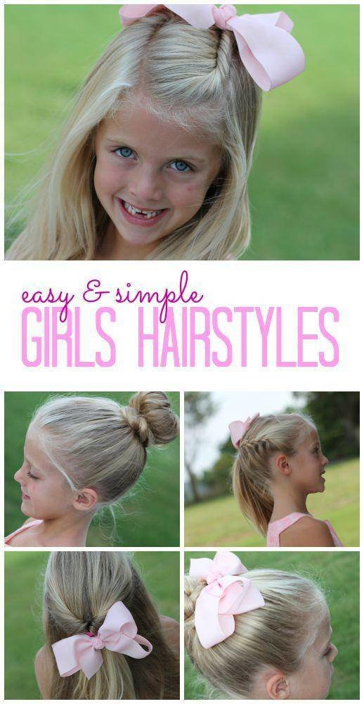 The Best Easy Girls Hairstyles For Back To School Pictures