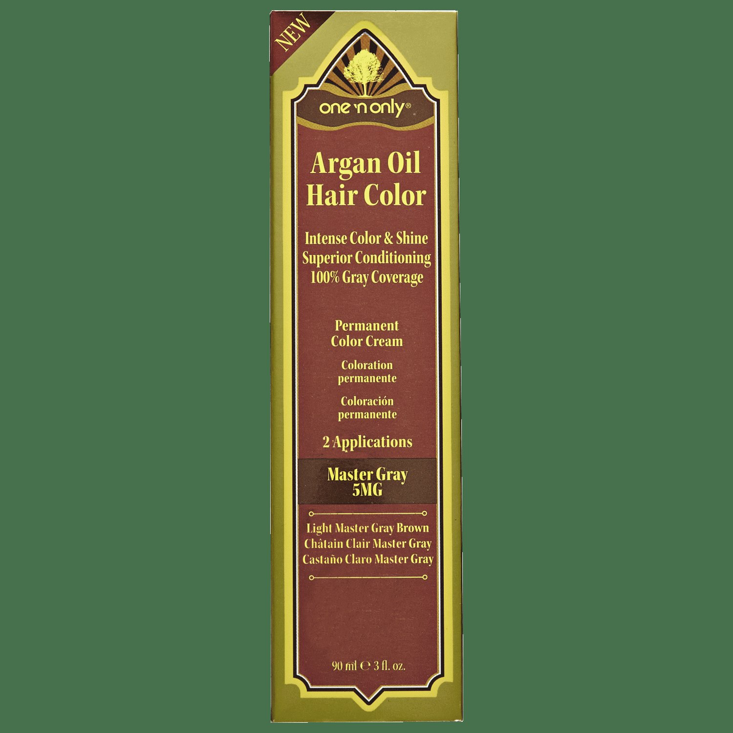 The Best One 'N Only Argan Oil Gray Series Permanent Hair Color Cream Pictures