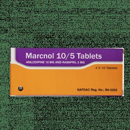 MARCNOL 10/5 1/3 - Rommar Online Pharmacy   Buy Medicines Online, Fast  Delivery