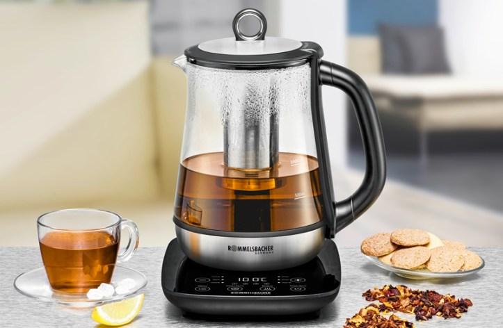 TA 2000 Tee- und Wasserkocher von Rommelsbacher - auch für Apfelpunsch mit Ingwer