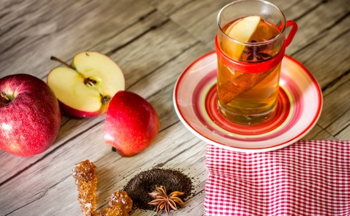 Apfelpunsch mit Ingwer - die Zutaten