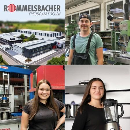 Rommelsbacher sorgt für eigenen Nachwuchs - drei neue Auszubildende im Jahr 2020