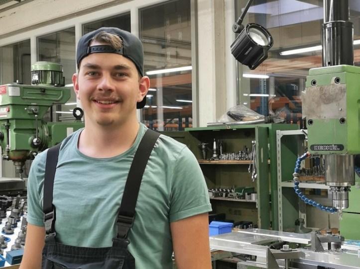 Auszubildender im Werkzeugbau - Rommelsbacher sorgt für eigenen Nachwuchs