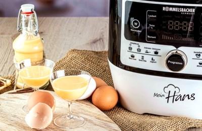 Eierlikoer-Multikocher-Rezept zu Last MInute  Geschenke aus der Küche