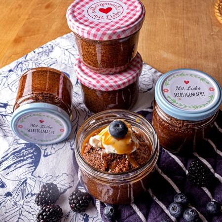 Gewuerz-Kuchen im Glas - Rezept zu last minute Geschenke aus der Kueche von Rommelsbacher-