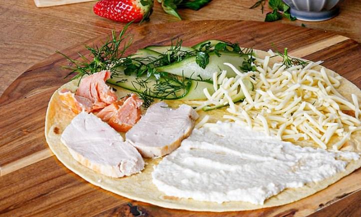 surf 'n turf Wrap - Rezept-Bild aus: 5 x gegrillte Tortilla Wraps (Der Wrap-Hack)