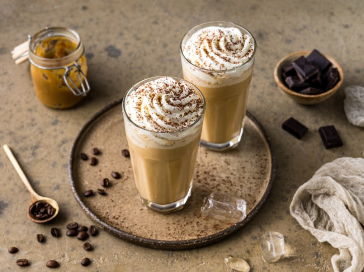 Dulce de Leche Frappuccino  Rezepte für Dulce de Leche Frappucchino & Dulce de Leche Eis von Rommelsbacher
