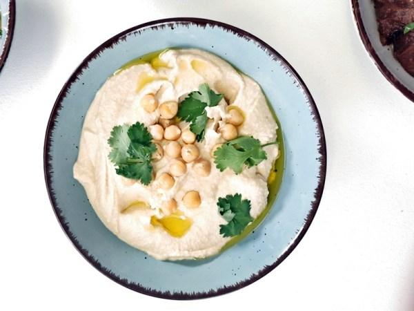 Hummus klassisch - Rezept Rommelsbacher - Hummus viermal anders