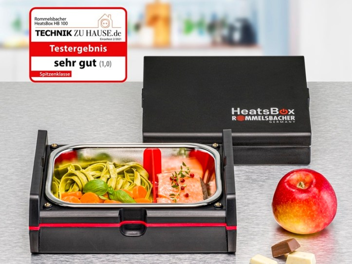 innovative elektrische Lunchbox von Rommelsbacher HeatsBox HB 100