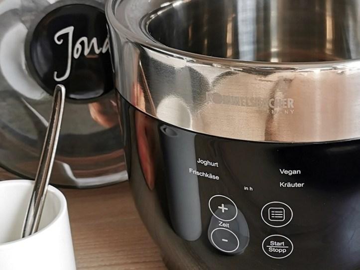 JG 80 Joghurtbereiter für veganes Joghurt und Joghurt aus Kuhmilch-Alternativen