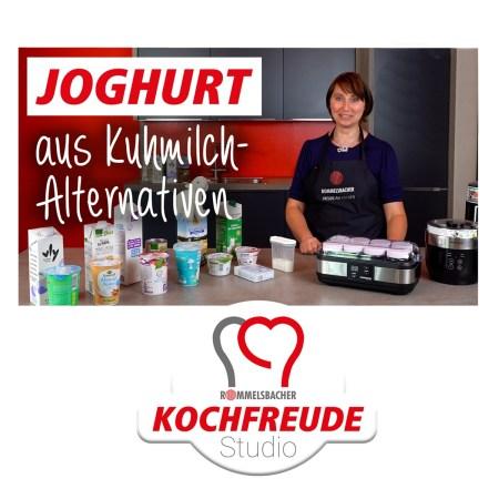 Kochfreude Studio von Rommelsbacher - Titel Joghurt aus Kuhmilchalternativen