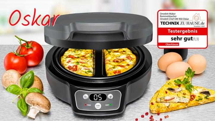 Omelett Chef Oskar - Omelett maker von Rommelsbacher - OM 950