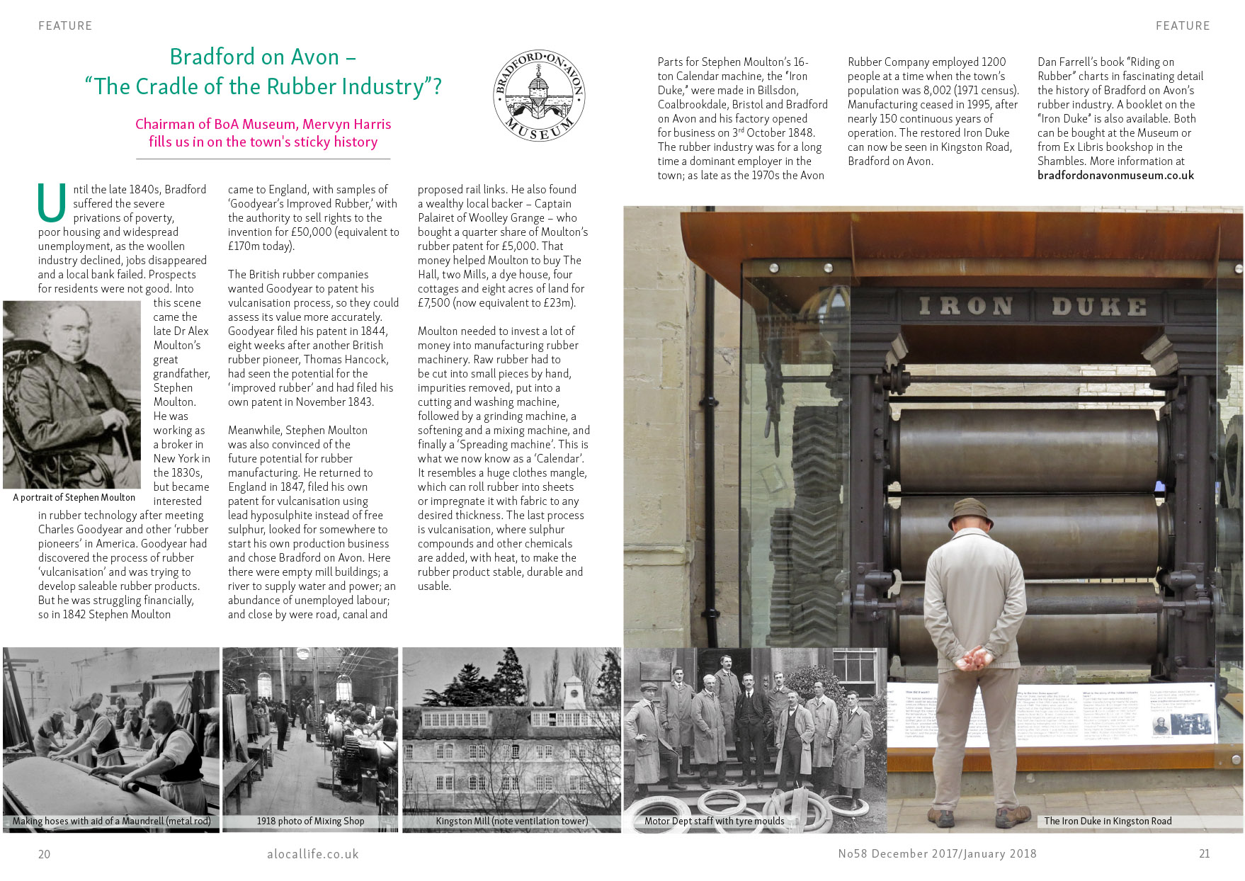 A Local Life magazine history feature