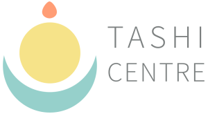 Tashi Centre logo design