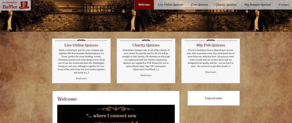 Bobbington's Baffler website