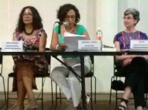 24 agosto 2014 Titular del IMO en Presentación de Mujeres Grandes