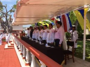 Cambian de mando de la Décima Segunda Zona Naval Militar de Salina Cruz (1)