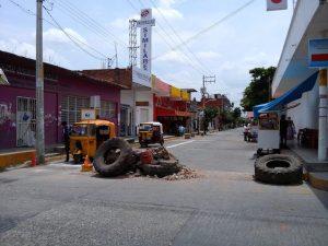 Continúan conflictos en calles de Juchitán.2
