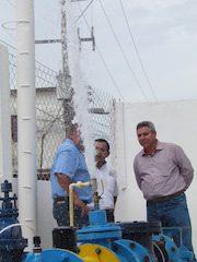 Rehabilitan pozo numero 4 en Juchitán.3