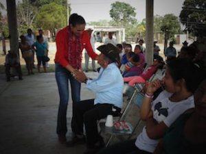 """YARTIH TANNOS SE COMPROMETIÃ"""" CON LOS ADULTOS MAYORES A GESTIONAR MAYORES RECURSOS PARA LOS PROGRAMAS DE SALUD"""