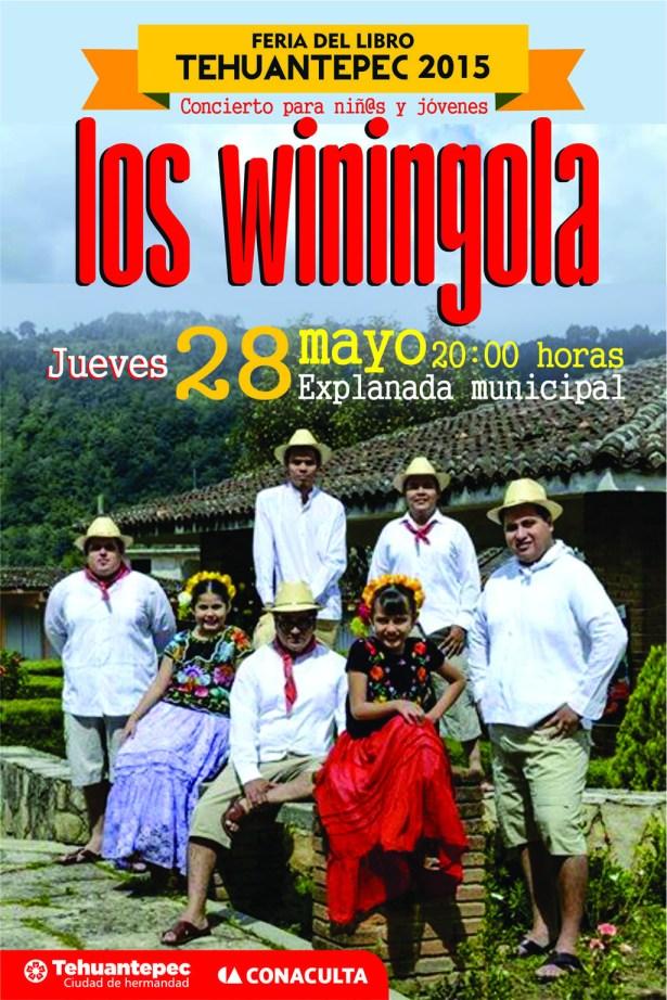 28 Mayo flyer LOS WININGOLAS