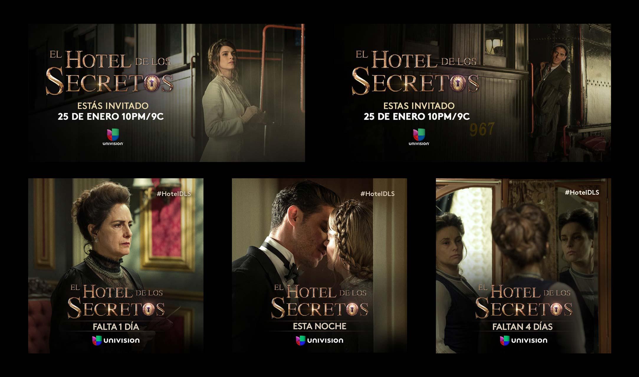 El hotel de los secretos logo for Bazzel el jardin de los secretos