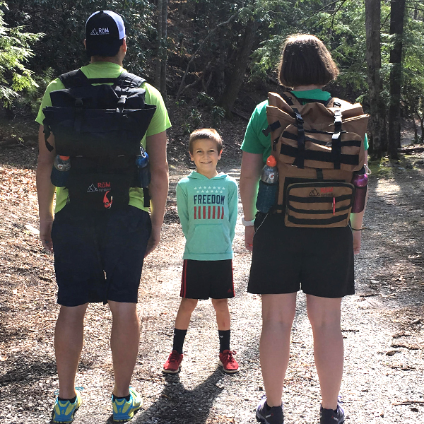RoM Outdoors, Hiking Gear, Outdoors, Backpacks, RoM Pack, Our Trail, Backpacking, Transform your Adventure, Family