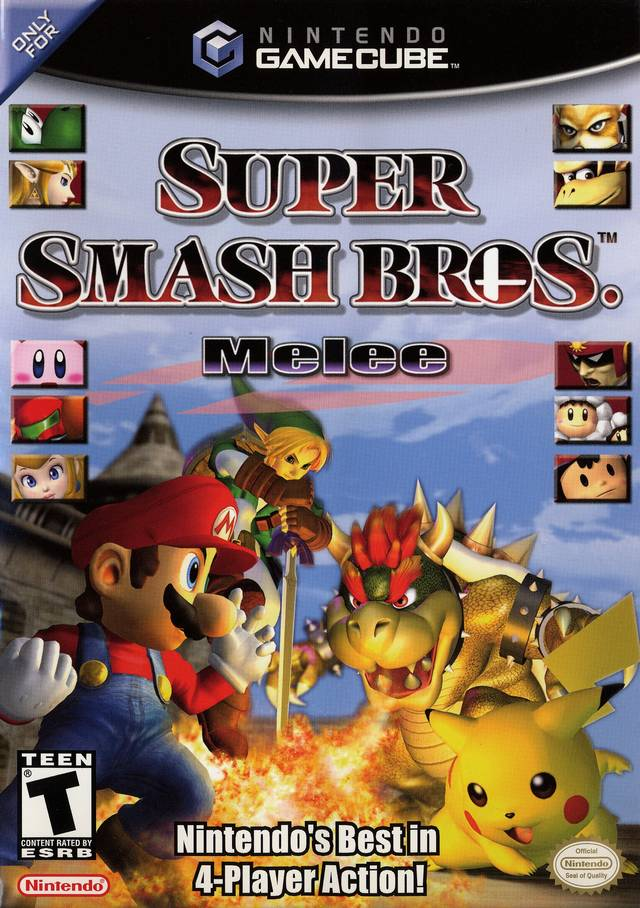 Super Smash Bros  Melee ROM [100% Fast] Download for GameCube